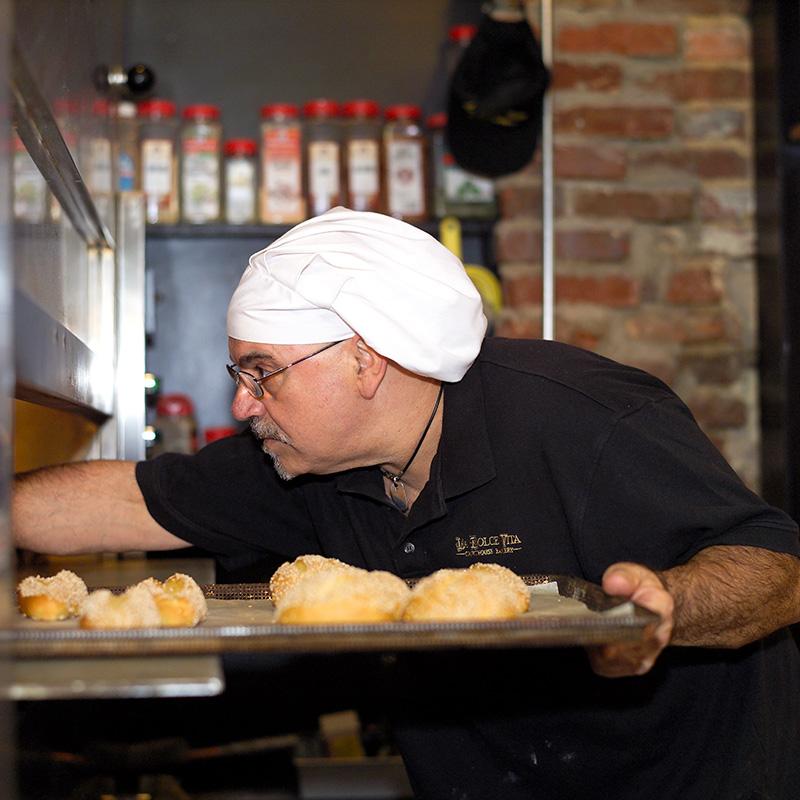 Baker-oven