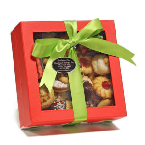 Assorted Italian Butter Cookies In Gift Box